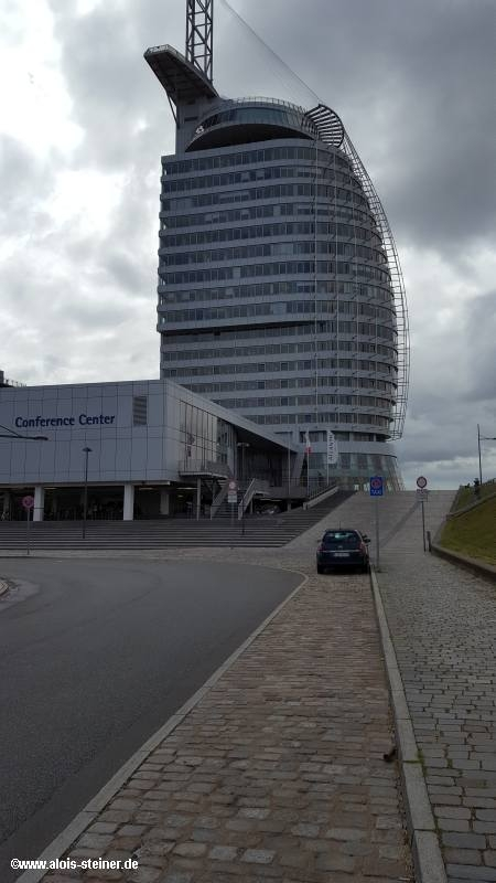 Bremerhaven. Sail-City Viewing Center
